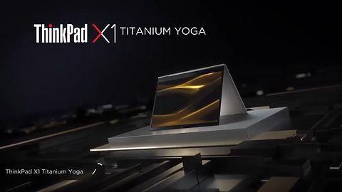 Lenovo Titanium Yoga. Ultra-cienki laptop z nietypowym touchpadem