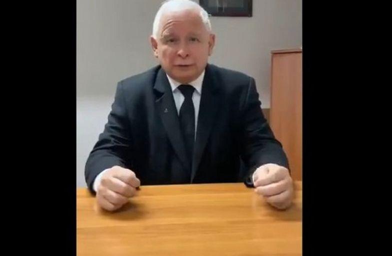 Jarosław Kaczyński rozpoczął #StopFurChallenge. Nominował premiera