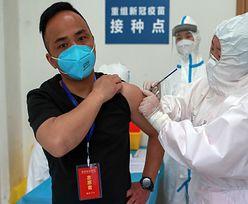 Chiny szczepią na potęgę eksperymentalnymi środkami