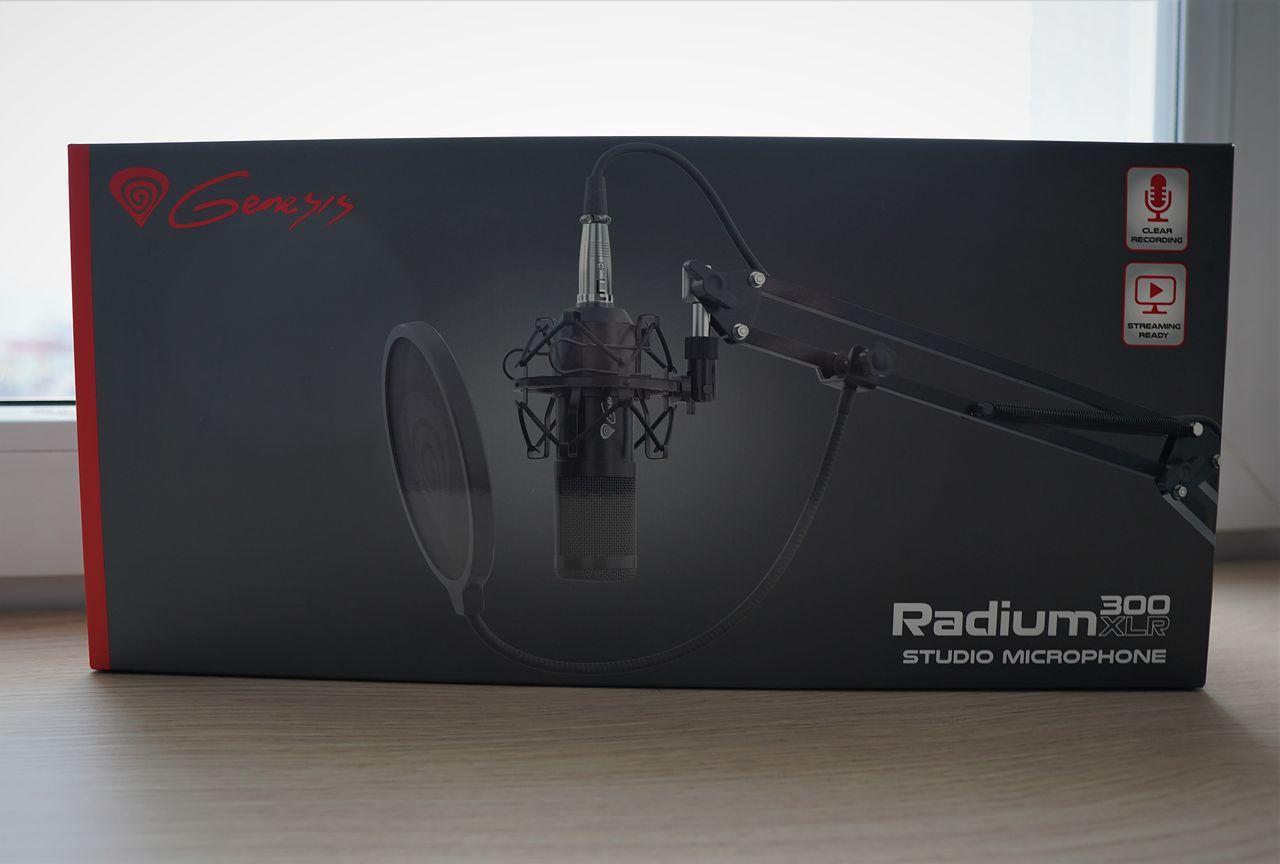 Genesis Radium 300 XLR - mikrofon kardioidalny dla początkujących mówców [do 200zł]