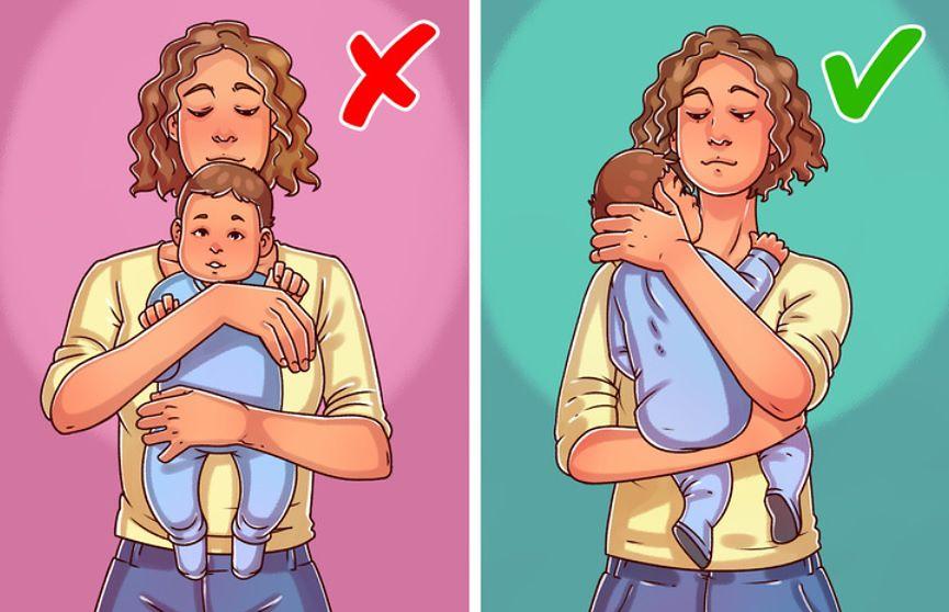 """Nie trzymaj dziecka """"do przodu"""""""
