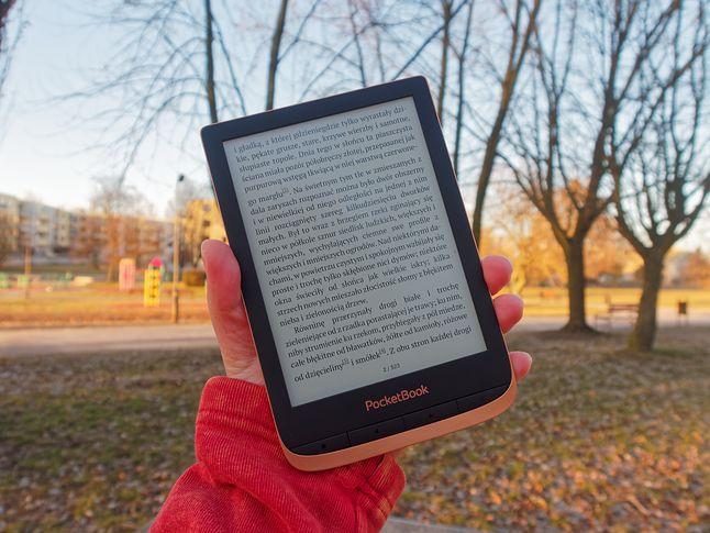 PocketBook Touch HD 3 jest lekki i świetnie się go trzyma