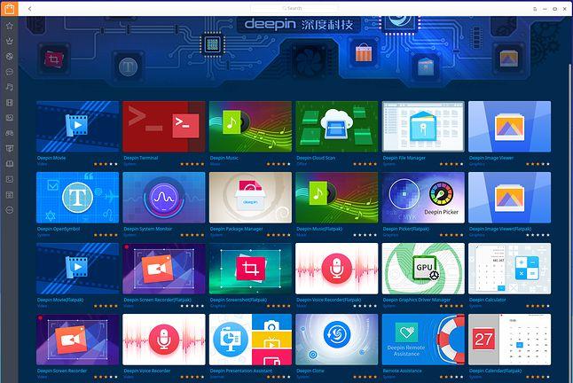 Autorskie aplikacje Deepina w oficjalnym  sklepie