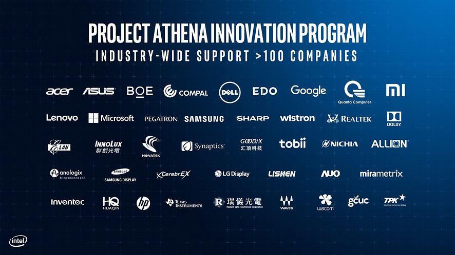 Intel wraz z partnerami prezentje laptopy zgodne z certyfikacją Project Athena (Fot. Materiały prasowe)