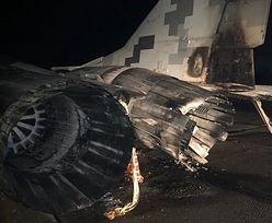 Pijany kapitan wjechał volkswagenem w myśliwiec MiG-29