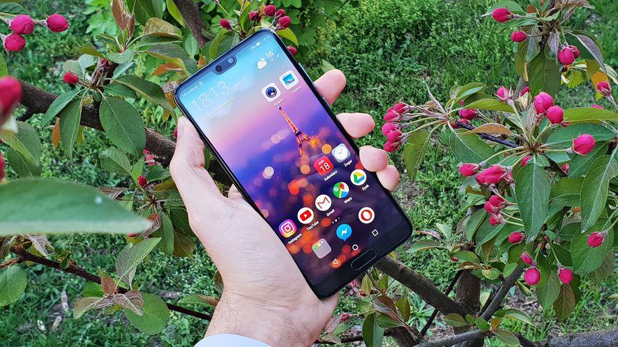 Huawei P20: test bardzo dobrego smartfonu o aparycji pięknego flagowca