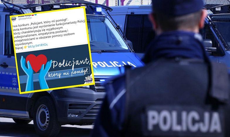 Polska policja chciała ocieplić swój wizerunek. Efekt odwrotny od zamierzonego