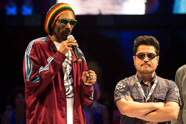 Katsuhiro Harada i Snoop Dogg na E3 2012