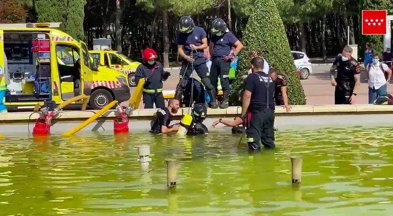 Tragedia. 16-latek utopił się w fontannie. Miała 30 cm głębokości