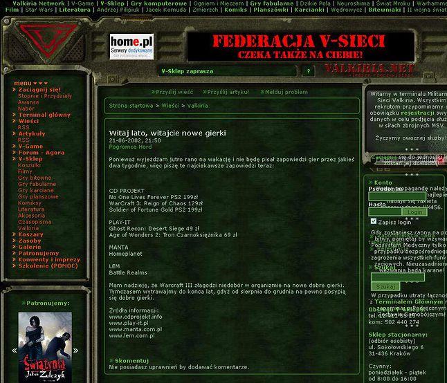 Valkiria.net (Archiwum prywatne)