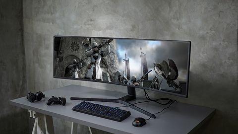 Samsung CRG9, czyli dwa monitory 1440p w jednym, dosłownie