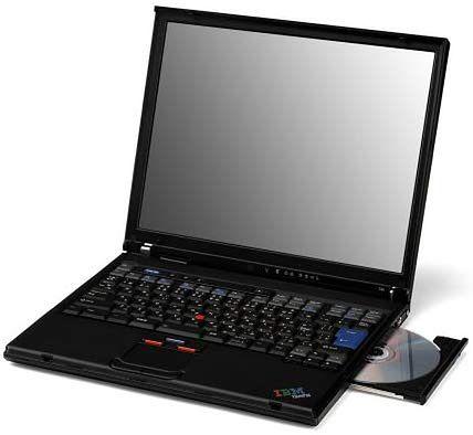 Legendarny ThinkPad T40, fot. Materiały prasowe