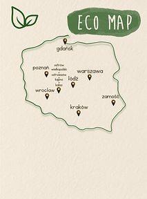 Mapa eko-sklepów w Polsce, czyli gdzie zrobisz zakupy zero waste