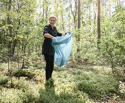Agata Duda przyłapana z workiem na śmieci. Prezydent zabrał pierwszą damę do lasu