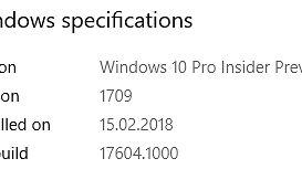 Pierwsza kompilacja z gałęzi Redstone 5 ujrzała światło dzienne, czyli Windows 10 w wydaniu 17604