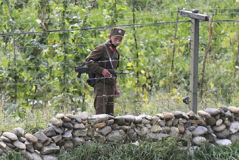 Korea Północna. Żołnierze blokujący granicę wysadzeni w powietrze