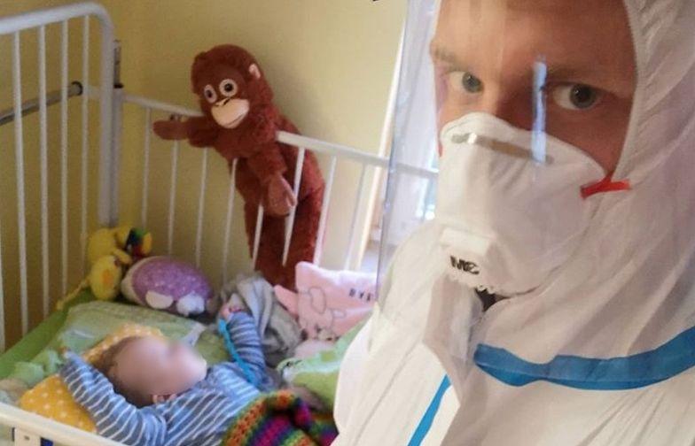 Koronawirus wszystko zmienił. Lekarz pracuje z dziećmi. Mówi, co się dzieje