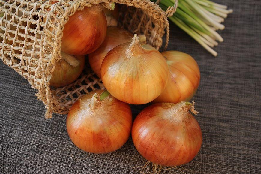 Sok z cebuli posiada wiele korzystnych właściwości