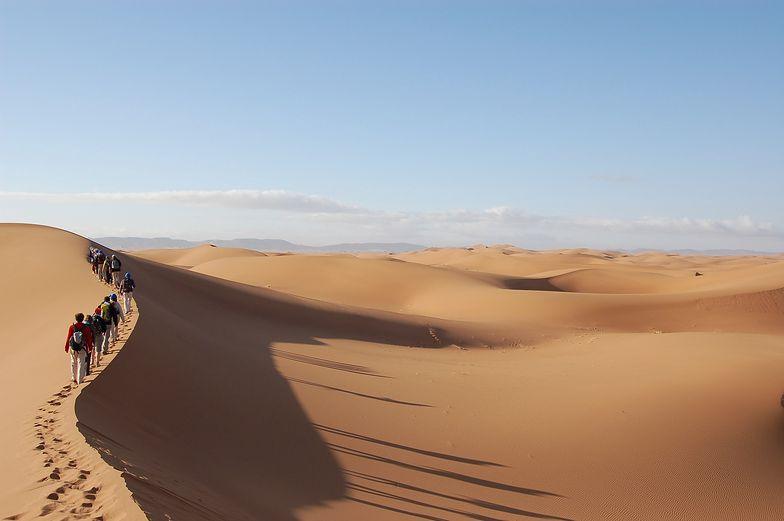 Sahara skąpana w śniegu. Co za zdjęcia! Ten widok po prostu zapiera dech