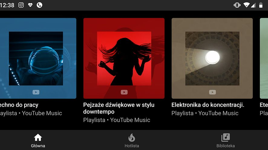 """Techno do pracy"" w YouTube Music? Czemu nie"