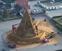 Rekord Guinnessa. Najwyższy na świecie zamek z piasku powstał w Europie