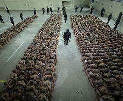 Stan wyjątkowy w więzieniach. Niepokojące zdjęcia z Salwadoru