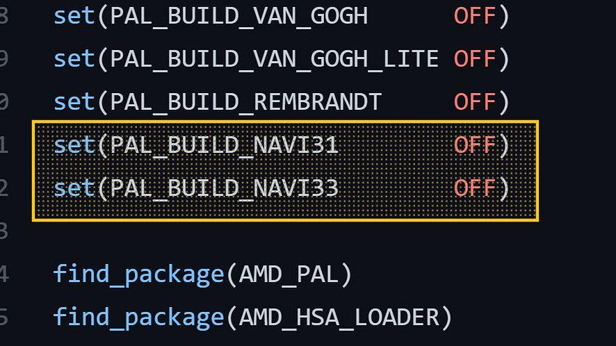 AMD Navi 31 i 33