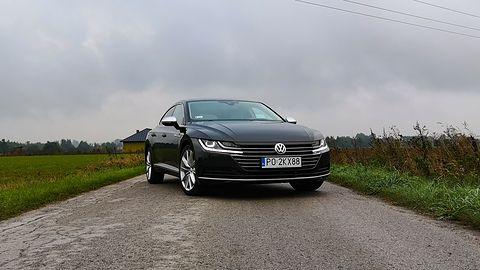 Volkswagen Arteon: kamery 360 stopni z 3D i system dźwięku Dynaudio