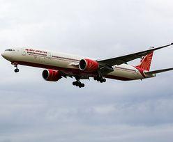 Samolot zawrócił w połowie drogi. Pilot zakażony koronawirusem
