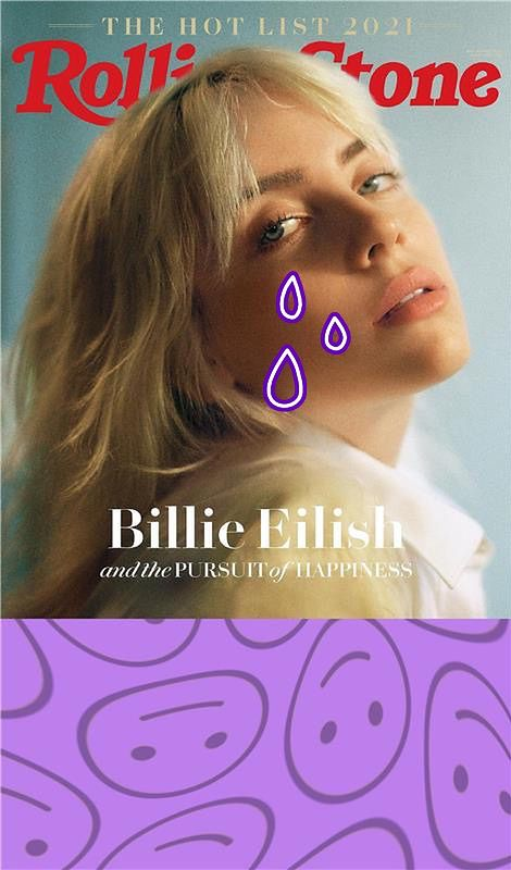 """Billie Eilish dla """"Rolling Stone"""""""