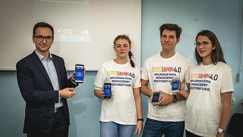 Aplikacja mobilna zamiast plakatów – oto pomysł kandydata PiS na prezydenta Łodzi