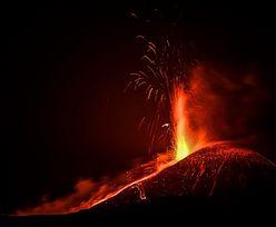 Czwarta erupcja wulkanu w 6 dni. Niezwykłe nagrania z Włoch