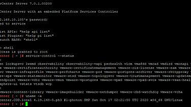 Photon OS - od VMware vSphere po kontenery, Dockera i Pi-hole - Photon 3.0 (vCenter 7 U1)