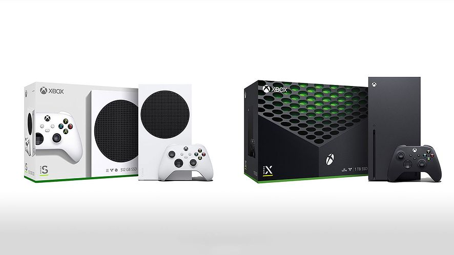 Xbox Series S oraz Xbox Series X, fot. Microsoft