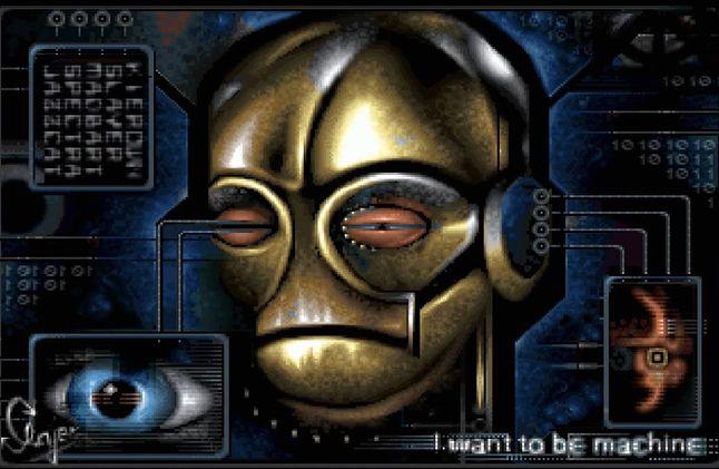 "Grafika autorstwa Slayer'a z grupy Appendix (""Blind Visions"" 2003)"