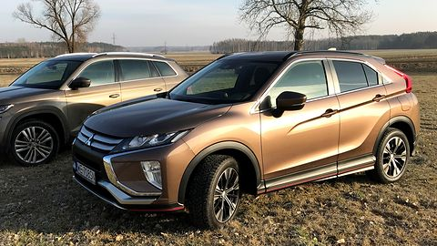 Test Mitsubishi Eclipse Cross: bez smartfonu nie wsiadaj do środka
