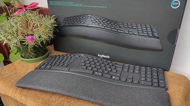 Ergonomiczna klawiatura dla miłośników pisania. Recenzja Logitech ERGO K860!