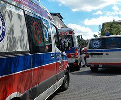 Płońsk. 33-latek ukradł karetkę. Chciał wrócić nią do domu