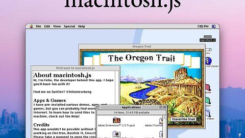 Zainstaluj macOS 8 jako apkę na OSX, Windowsa i Linuksa. Przeniesie cię do 1997 r.