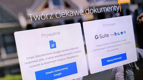 Dokumenty Google. Licznik wyrazów dostępny podczas pisania
