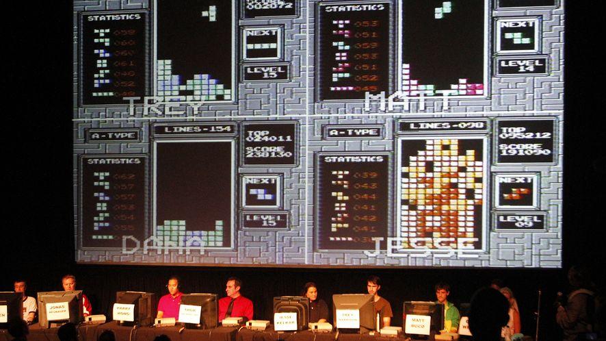 Półfinały Classic Tetris World Championship w 2010 roku.