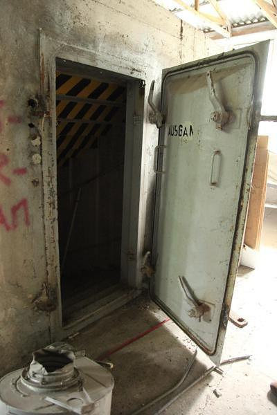 Wejście do bunkra