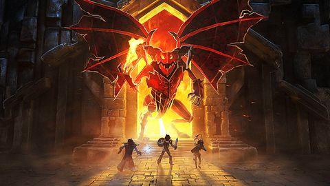 Book of Demons - recenzja. Urokliwy diabełek z papieru