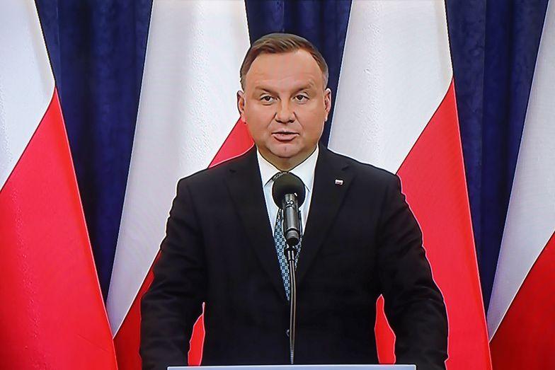 Andrzej Duda w najnowszym sondażu wyborczym prowadzi ze zdecydowaną przewagą