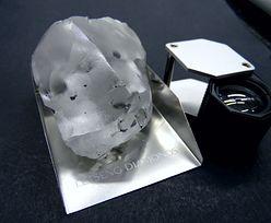 Wykopali jeden z największych diamentów na świecie. Ma 910 karatów