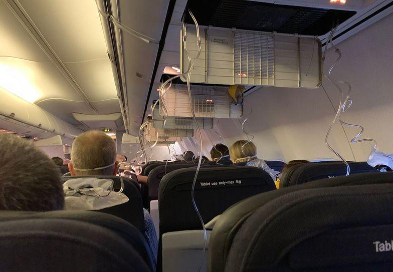 Koszmarny lot z Adelaide. Usłyszeli huk i zaczęli spadać