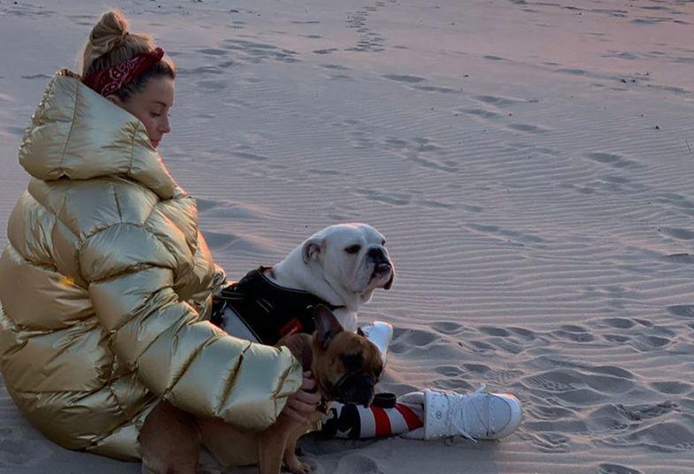 Małgorzata Rozenek na plaży. Fani krytykują