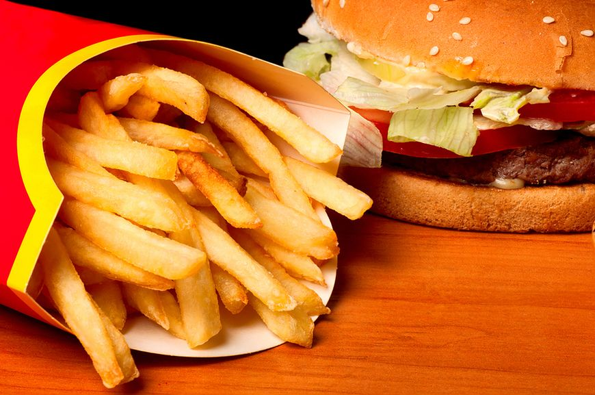 Logo restauracji fast food może wpłynąć na zachowanie