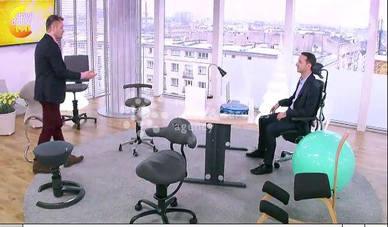 Zdrowie kręgosłupa a krzesło w pracy (WIDEO)