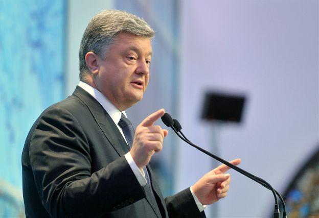 Petro Poroszenko traktuje manewry jako zagrożenie